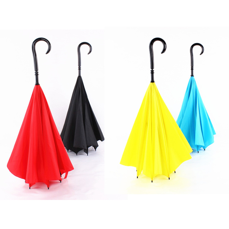 f765e7968236c8 Novelty Umbrella Fashion Reverse Umbrellas Windproof Clear Rain Umbrella  rain women