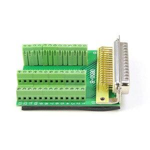 Image 5 - Соединитель DB50 из чистой меди для пайки, плата адаптера, Клеммная колодка, 50pin