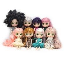 DBS buzlu Middie blyth doll 20cm ortak orta blyth doll ile el hareketi 1/8 bjd moda bebek fabrika çıplak özel teklif
