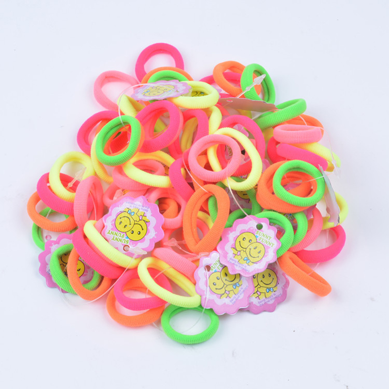 25pcs/Lot Child Baby Kids Ponytail Holders Hair Accessories For Girl Rubber Band Tie Gum Accessory newborn photography props child headband baby hair accessory baby hair accessory female child hair bands infant accessories
