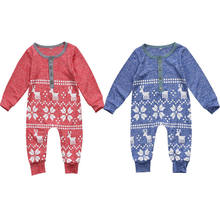 OKLADY 2019 New Arrival XMAS Baby Kids Boy Girl Infant Romper Jumpsuit Playsuit Outfit Christmas Toddler Rompers(China)