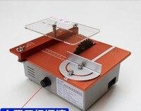 Aluminum Micro Table Electric Saw DIY Mini Cutter Acrylic Wood PCB Cutting machine