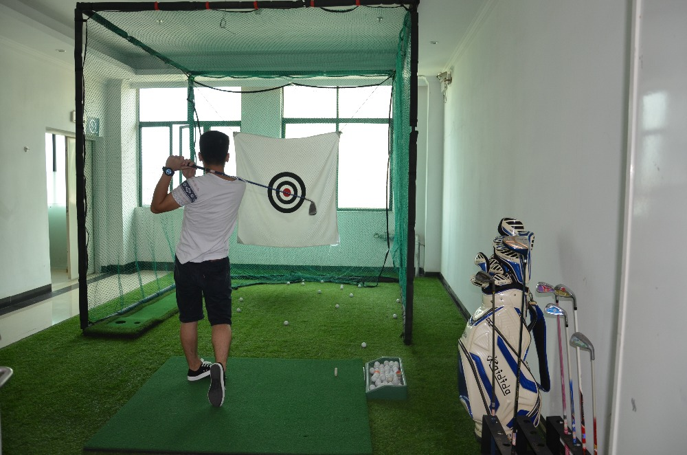 Indoor&outdoor Golf Hitting Cages , Golf Putting Green , Golf ...