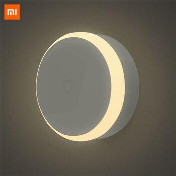 Оригинальный Xiao mi светодио дный mi JIA светодиодный коридор Ночной свет инфракрасный пульт дистанционного управления тела датчик движения ум...