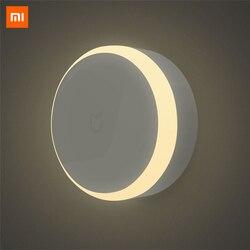 Original Xiaomi MIJIA LED Corridor Night Light Infrared Remote Control Body Motion Sensor Smart Home Night Lamp Mi Yeelight Bulb