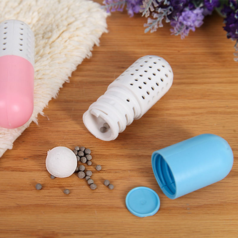 2 Pcs/lot Shoe Deodorant Moisture Absorber Shoe Deodorizer Dryer Desiccant  Cute Pill Shape Antimicrobial