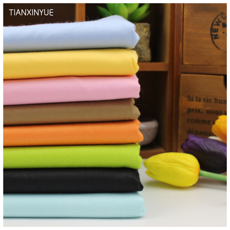 Twill 8 pcs cotton fabric Assorted Pure Series cotton textile fabric for sewing crafts Tilda baby Cloth 40*50cm Sewing patchwork