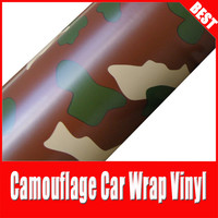 China Dream 1 52x30M 100 Air Free Bubble Camouflage Sheet Self Adhesive