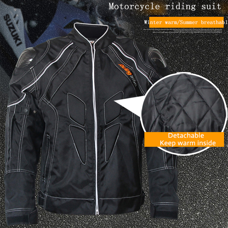 Riding Tribe Summer Motorcycle Racing Jacket Breathable Protective Armor Suit Knight Riding Motorbike Motorcycle Jacket Coatvest 2013 new style red mens motorcycle jacket motorbike riding jacket suit with size s to xxxl free shipping