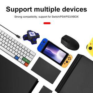 Image 4 - EastVita KX USB משחק בקרי מתאם ממיר וידאו משחק מקלדת עכבר מתאם עבור מתג/Xbox/PS4/PS3