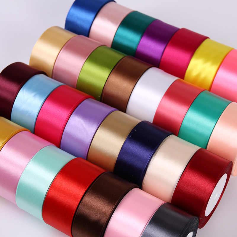 6mm 1cm 1,5 cm 2cm 2,5 cm 4cm 5cm Satin Bänder DIY Künstliche Seide Rosen handwerk Liefert Nähen Zubehör Scrapbooking Material