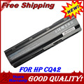 Batería del ordenador portátil para hp dv6-4000 dv6-6100 jigu para pavilion dm4 dv3 dv5 DV6 DV7 G4 G6 G7 G72 G62 CQ42 CQ43 CQ56 CQ62 CQ72 MU06