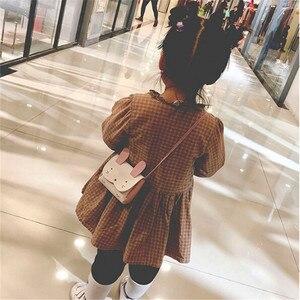 Новинка 2019, хит продаж, кошелек из искусственной кожи для девочек, Детский кошелек с кроликом на одно плечо, маленький кошелек для монет, Детский кошелек
