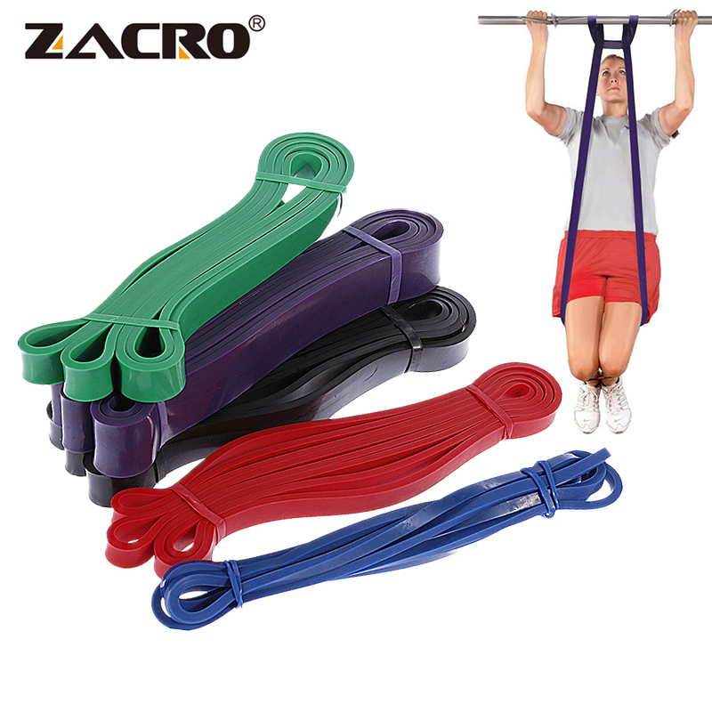 Zacro Fitness Rubber Resistance Band Unisex 208Cm Yoga Athletic For Exercise