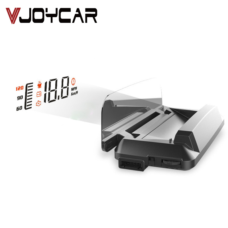 все цены на Car HUD Head Up Display With OBD2/EOBD Interface Plug & Play, Vehicle Speed MPH/KM/h, OverSpeed Warning, Fuel Consumption 35 онлайн
