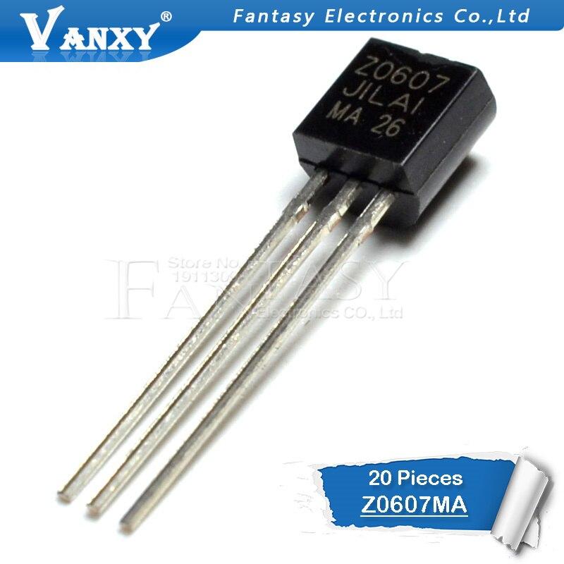 20PCS Z0607MA TO-92 Z0607 TO92