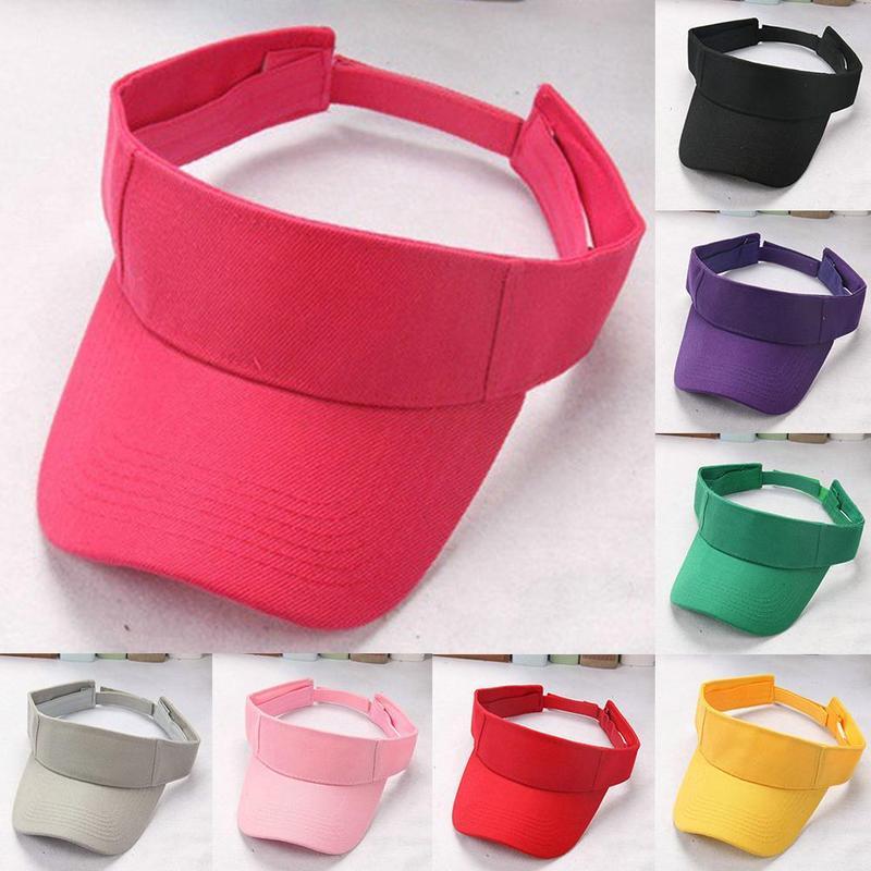 Light Weight Plain Men Women Summer Outdoor Sport Hat Sun Visor Cap Hat For Golf Hiking Tennis Caps Unisex Accessories
