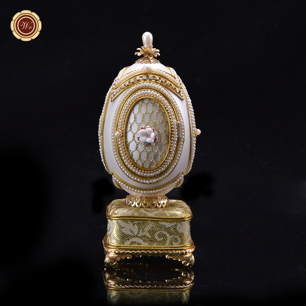 WR Birthday Gift Ideas For Girlfriend Eggshell Music Box Superior Quality Luxury Carriage Marriage Gifts