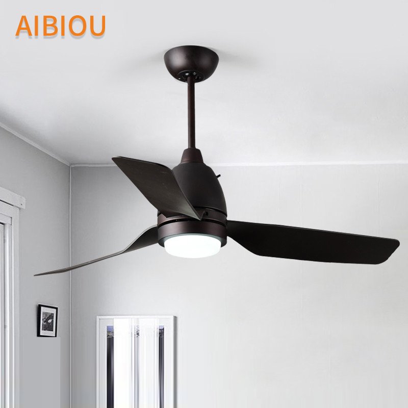 44 ceiling fan with light outdoor aibiou led modern ceiling fan with lights for living room 220v cooling fans light 44 inch cooler kitchen lighting fixtures in from