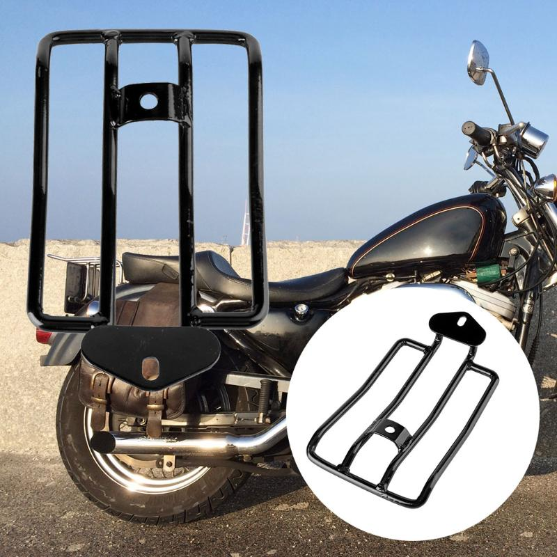 VODOOL Motorbike Luggage Rack Support Shelf Frame Mount for Harley XL883/1200 X48 High Quality Car Styling Accessiores motorbike black solo seat luggage shelf frame rack for harley sportster xl 883 1200 85 03
