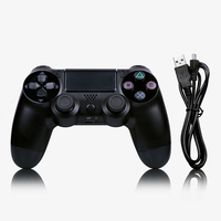 Wireless Bluetooth Gamepad For PS4 Console PlayStation Joystick Controller For PC Win 7/8/10 For PS3 Console With USB Cable