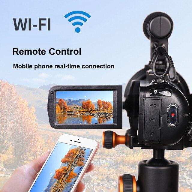Komery Genuine Original DV-02 Video Camera 3.0 inch Touch Screen 2400w Pixel 8X Digital Zoom Support WiFi Three-year warranty 3