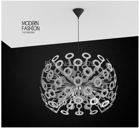 Hot selling  dia 55cm white  New Modern Dandelion  Pendant lighting Fixture