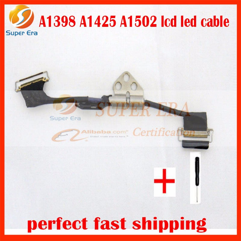 5pcs/lot perfect A1502 A1425 A1398 LCD LED LVDS Display Screen Cable for Apple MacBook Pro Retina 13 15 2012 2013 2014 2015 image