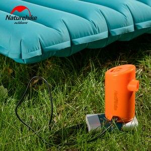 Image 3 - Naturehike Elektrische Aufblasbare Pumpe Für Outdoor Air Matte Camping Feuchtigkeit beweis Matratze Reise Kissen Mini Tragbare Aufblasbare