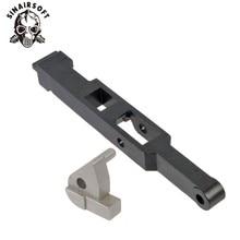 Precision Steel Vsr 10 G spec Tm L96 Bar 10 M28 Piston & Trigger Sear Set Power Metallurgy Hunting Army Paintball Accessory