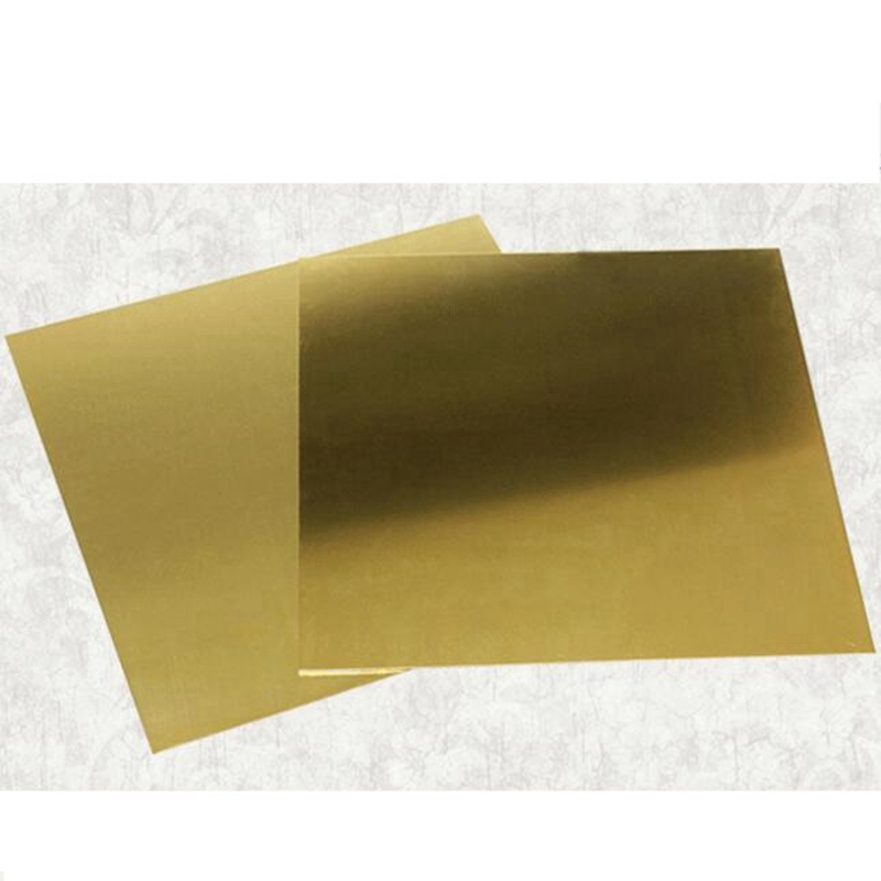 1mm 2mm 3mm 50X50mm Brass Sheet Plate Of CuZn40 2.036 CW509N C28000 C3712 H62 Customized Size Laser Cutting NC Free Shipping
