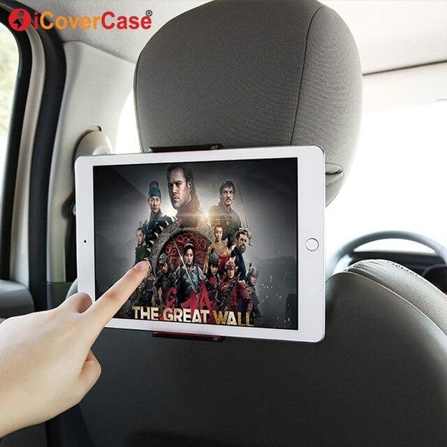 자동차 전화 홀더 뒷좌석 태블릿 스탠드 브래킷 화웨이 Mediapad X2 X1 T3 7 10 M3 Lite M5 P20 Lite for iPhone XS Max X 삼성 S9