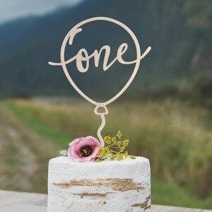 Image 1 - ראשון שמח יום הולדת עוגת טופר, מסיבת יום הולדת עוגת צילינדר 1st יום הולדת, מקלחת ילד או ילדה ראשון יום הולדת דקור וגינה