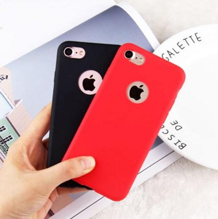 Silikon Case untuk iPhone 5 S 5 Se iPhone 6 S 6 S Iphone 8 7X10 XR XS max 6 Plus 6 S Plus 7 Plus 8 PLUS Cell Phone Cover Casing