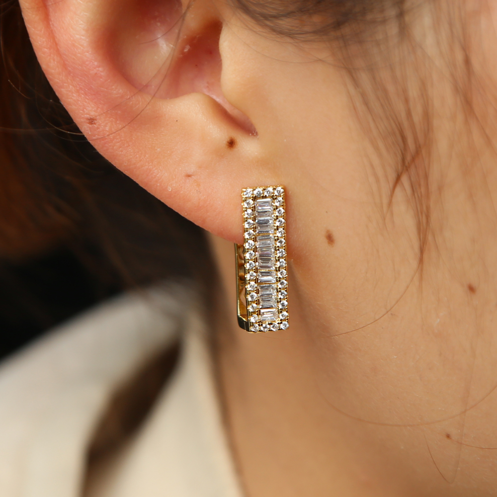 2018 neW DESIGN women ladies jewelry gold color pave cz sparking ...