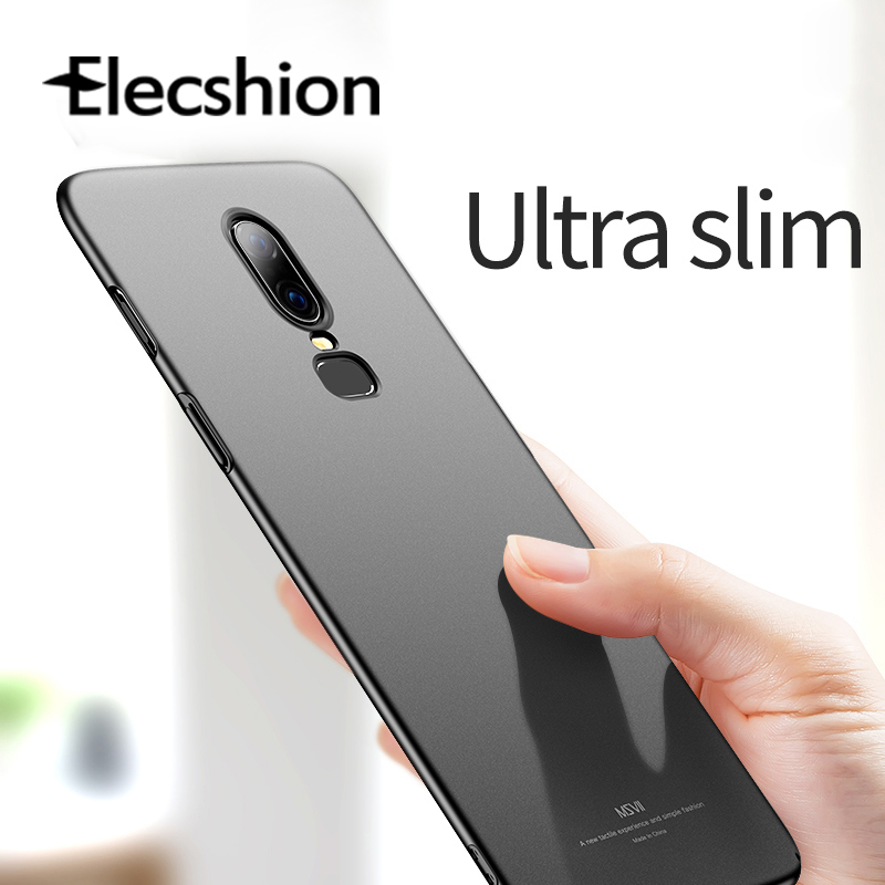 Half-wrapped Matte Phone Case For Oneplus 7 Pro 6t Luxury Ultra Slim Back Cover Fundas For Oneplus 5 5T 3 3T Hard PC Coque Case