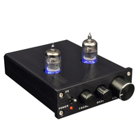 Mini 6J1 Pre Amplifier HiFi vacuum tube high/bass adjustment audio preamp audio equalizer D2