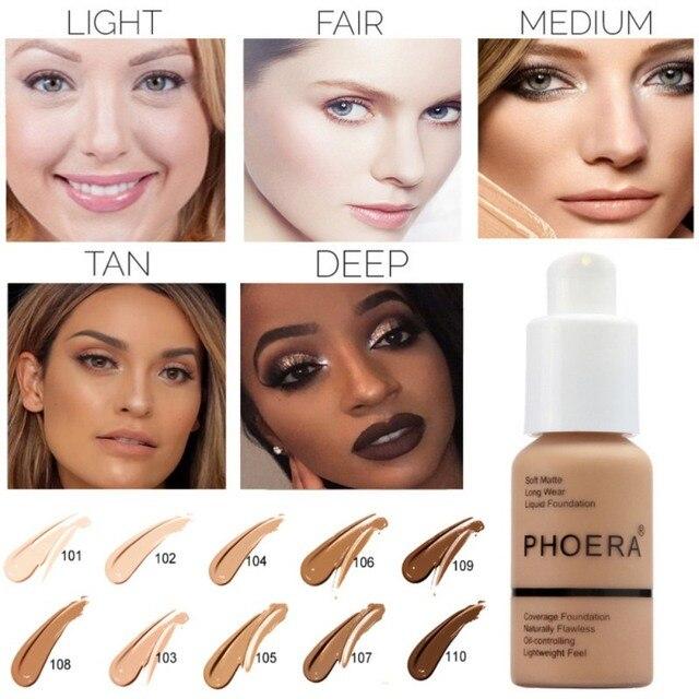30 ml fond de teint doux mat longue usure contrôle de l'huile correcteur crème mode femmes maquillage 1