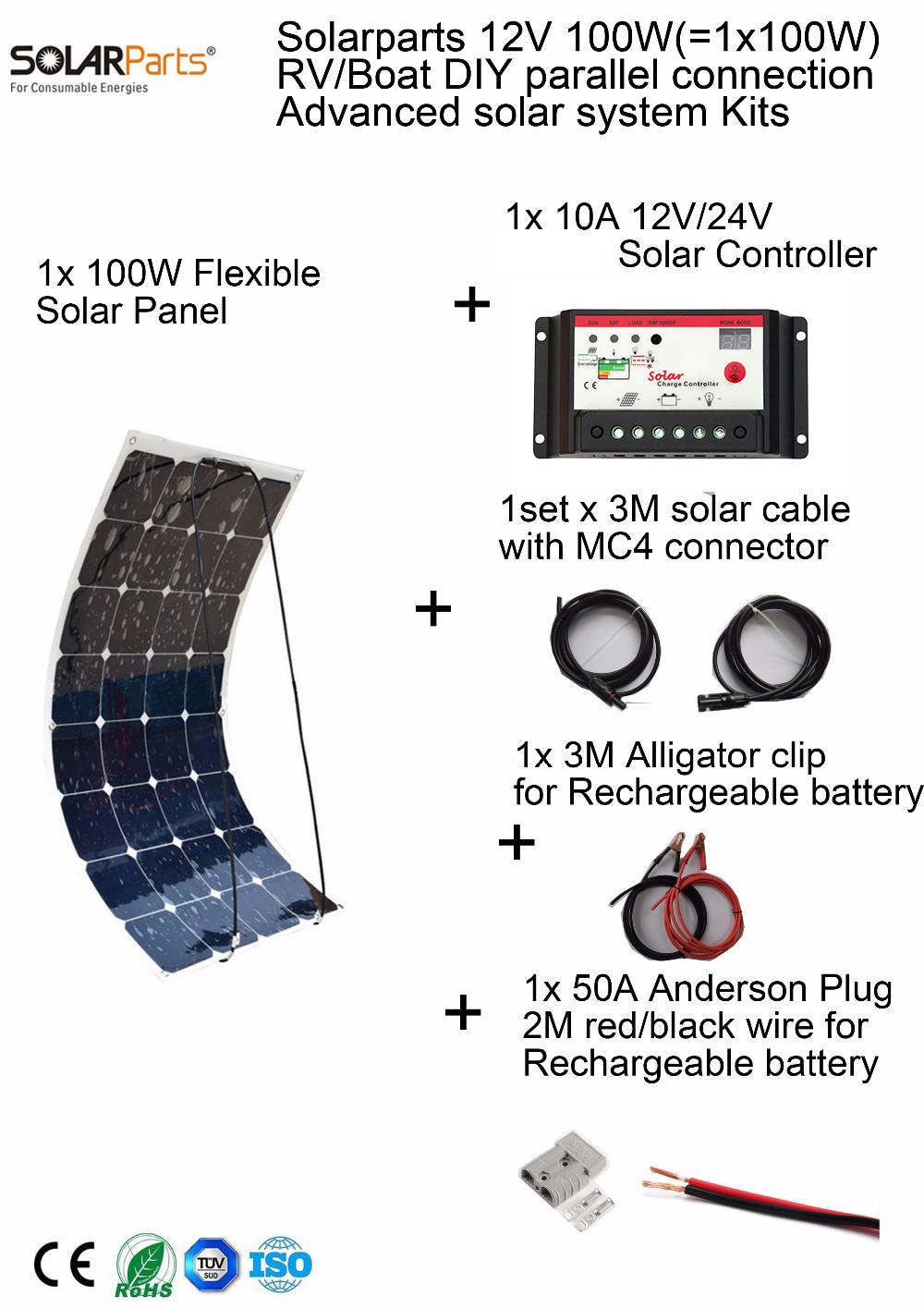 100w SOLAR SYSTEM