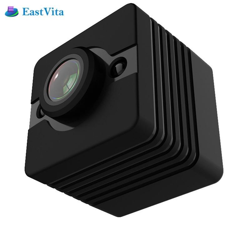 EastVita SQ12 Impermeabile mini macchina fotografica HD 1080 P DVR Lens Sport Videocamere Grandangolare MINI Videocamera PK SQ8 SQ9 Q11