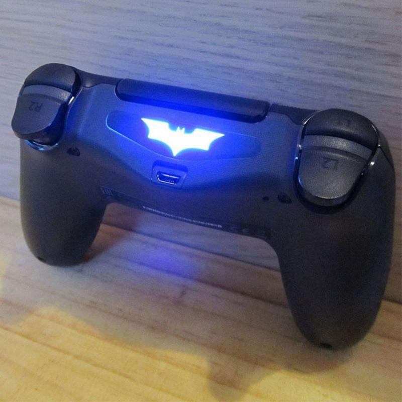1 Pcs/5 Pcs LED Light Bar Decal Sticker For PlayStation 4 for PS4 Controller Dual Shock joystick decor film(China)