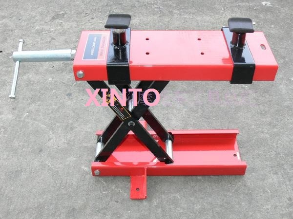 400 500kg Motorcycle Scissor Lift Table Lifting Platform Tire Repair Tools