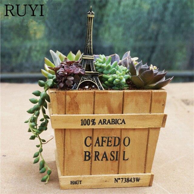 Zakka Creativo Fai Da Te Piante Succulente Cactus Bonsai Fiore Di