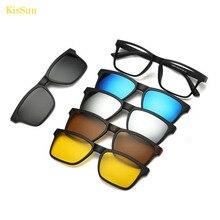 oculos Female Silver Mirrored Myopia Sunglasses Small Sun Glasses Black G ray Frame Polarized Reflective Night Vision Glasses