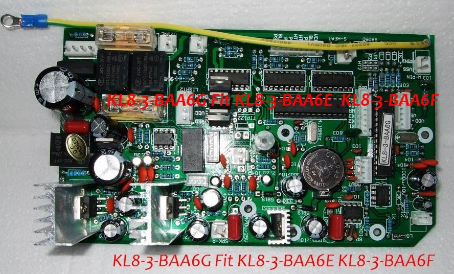 Ethink hot tub controller Pack Circuit board KL8-3-BAA6G replacing KL8-3-BAA6E 42 & KL8-3-BAA6F 40 for china spaEthink hot tub controller Pack Circuit board KL8-3-BAA6G replacing KL8-3-BAA6E 42 & KL8-3-BAA6F 40 for china spa