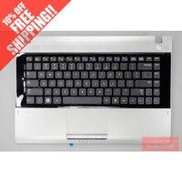 Для samsung RV409 RV411 RV415 RV420 E3420 E3415 клавиатура Клавиатура для ноутбука C оболочка