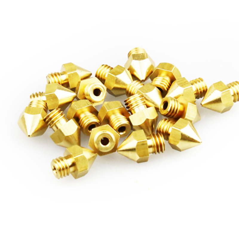 100PCS/lot 3D printer Extruder Nozzle For 1.75mm Filament Mix 0.2/0.3/0.4/0.5mm Complian ...