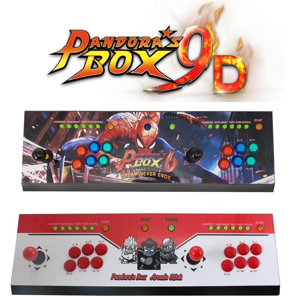 2222 in 1 Pandora 9D game console family version arcade console Upgraded Version HDMI & VGA