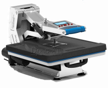ST4050B without Hydraulic High Pressure Digital Manual T-shirt Heat Press Machine with Drawer for transfer image