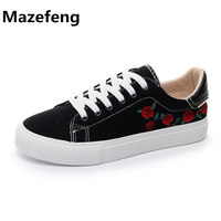 Street Canvas Shoes Female 2018 New Spring Wind Students Black Casual Shoes Woman Zapatos Mujer